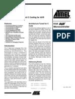 Atmel Avr Efficient c Coding