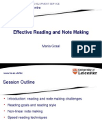 Reading and Notes Making