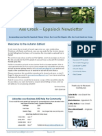 Axe Creek Eppalock News, Issue 42