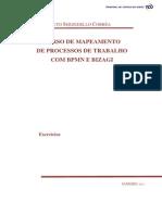 Curso Mapeamento BPMN Bizagi - Exercícios_v 2013