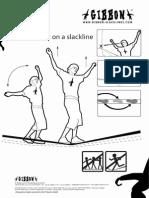 Gibbon Slacklines - How to Walk on a Slackline