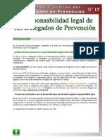 Ficha Práctica 15 La Responsabilidad Legal de los Delegados-as de Prevención