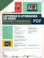 Leituras e Literacias Em Rede - Cartaz