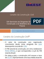 DIEESE Cenarios Setor Da Construcao Fev 2012