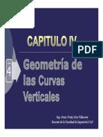 04_Geometria de Las Curvas Verticales