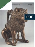 A Medieval Bestiary the Metropolitan Museum of Art Bulletin v 44 No 1 Summer 1986