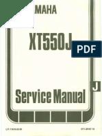 Yamaha XT550 Service Manual Ocr Small