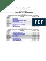Http://Www.worldcolleges.info/ Anna University Chennai: