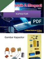 Kapasitor - Materi 4 - Fisika Listrik Magnet