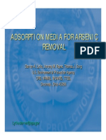 Ads or Ption Media for Arsenic Removal