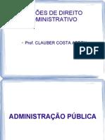 Curso de Direito Administrativo - PM 2012 - 2 Aula - Principios