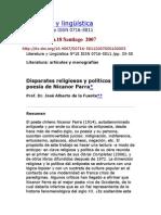 Literatura y lingüística_Nicanos Parra
