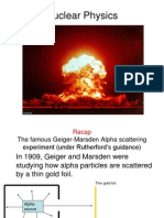 4 - Radius of Nucleus & Mass Spectrometer