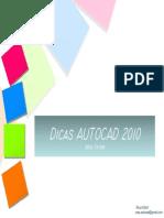 Dicas Autocad 2010.PDF