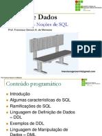 Unidade 11 - Noções de SQL