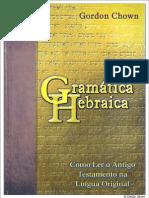 Gramática Hebraica - Gordon Chown