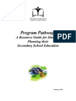 Program Pathways