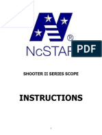 NcSTAR Shooter II Instructions