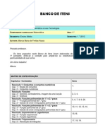 BI-01-2013 - Matemática - 1º ano - EM