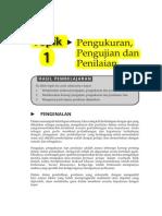Topik 1 Pengukuran, Pengujian Dan Penilaian - Copy