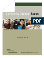 Seattle Outreach Report 01-24-14