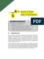 Topik 3 Jenis Ujian Dan Penilaian