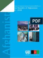 UNDAF Afghanistan