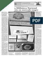 Trafican con tesoros de la Biblioteca Nacional del Perú