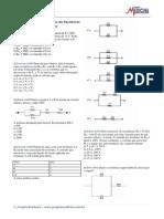 Exercicios Fisica Eletrodinamica Associacao de Resistores Gabarito