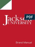 jackson university brand manual