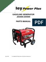 JD3500 Generator