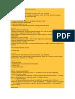 Guía de cantidades y porciones
