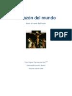Von BALTHASAR, H. U. - Corazon Del Mundo - Encuentro 1999