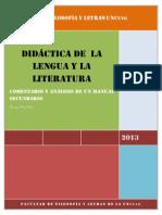 DIDÁCTICA DE  LA LENGUA Y LA LITERATURA (Manual 1).docx