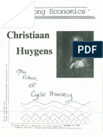 Christiaan Huygens--The Father of Cycle Theory 10-15-09