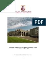 Inn @ VT Business Plan 2010