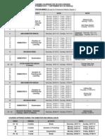 Academic Calendar for 2013-2014