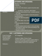 Day 1 Listening & Speaking