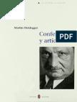 86301570 Martin Heidegger Conferencias y Articulos