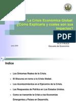 La Crisis Economica Global
