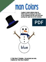 Snowman Colors