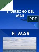 5. Derecho Mar