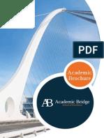 Brochure Academic Bridge Web