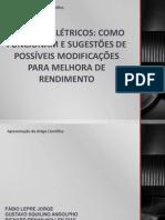 Apresentação - MOTORES ELÉTRICOS
