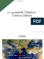 Aula 3 - Antiguidade Clássica – Creta e Grécia