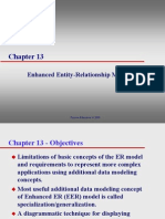 Lecture01 01 Enhanced Entity - Relationship Modeling Ch13
