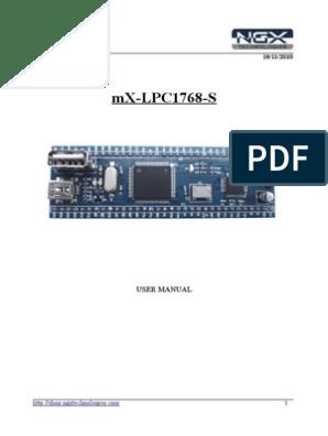 Ngx Mx-lpc1768-s User Manual | Usb | Usb Flash Drive