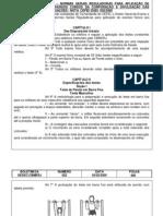 Teste de Aptidao Fisica-TAF- Para Cursos-CBMERJ