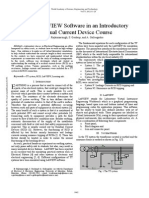 Using LabVIEW Software in an Introductory Residual Current Device Course