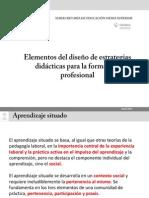 Elementos para el diseño de estrategias didácticas